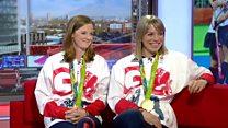 Helen and Kate Richardson-Walsh