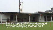 Vandals threaten bowling green future