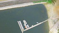 Swimmers warned of open water dangers