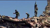 ТВ-новости: повторные толчки и спасательная операция в Италии