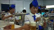 A primeira 'Oktoberfest' da Coreia do Norte