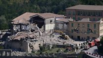 Aftershocks hamper rescue efforts in Italy