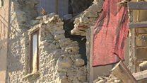 【イタリア地震】 村が山から滑り落ちた 不気味な静けさ