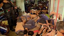 Prison raid in Philippines drug war