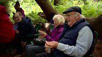 Boost for elderly outdoor activity plan