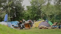 'Tent City' community faces eviction from Bristol park
