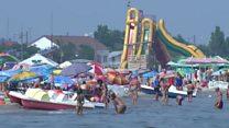 Ukraine's new hottest holiday location?