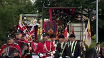 Royal Black Institution parades across NI