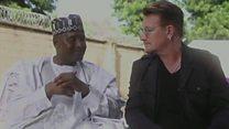 Bono in Nigeria: 50,000 children could die