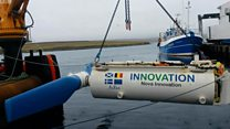 'World first' in tidal energy project