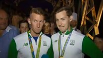 O'Donovan brothers thrilled by homecoming crowds