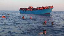 ТВ-новости: спасение мигрантов