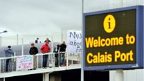 Britain's border controls will still be in Calais