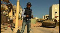 リビア政府の支持勢力、ISに攻勢かける