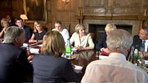 May addresses first cabinet after summer break