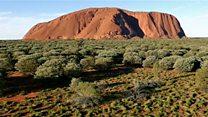 Uluru desde el aire: impresionantes imágenes de uno de los grandes patrimonios de Australia