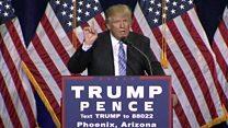 """""""México pagará por el muro"""": el discurso de Donald Trump tras su encuentro con Peña Nieto"""