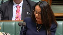 Linda Burney becomes first indigenous MP...