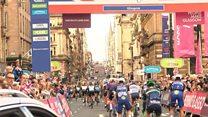 Tour of Britain begins in Glasgow