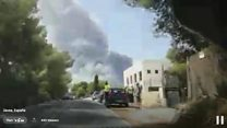 Spain forest fire forces 1,000 to flee