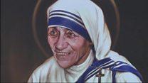 Папа причислил мать Терезу к лику святых