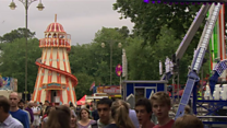How the St Giles' Fair has developed