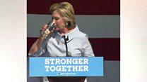 Yo'talib qolgan Klinton