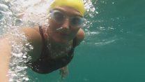 Somerset swimmer takes on Oceans Seven
