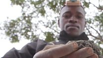 High-risk life of DR Congo miner