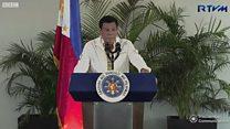 Brouille diplomatique entre les Etats-Unis et son allié les Philippines