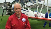85-year-old wing walker