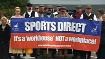 Sports Direct workers: 'This place is like a Victorian workhouse'