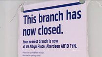 Scotland loses 112 bank branches in a year