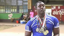Paralympian who lives in national stadium