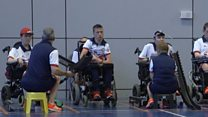 The family of four competing at the Paralympics
