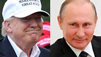 Trump on Putin, Putin on Trump