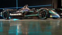Jaguar's new electric racing car