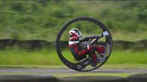 Британский моноцикл побил рекорд скорости