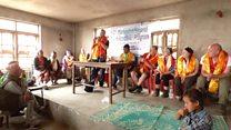 Paramedic helps rebuild Nepal village
