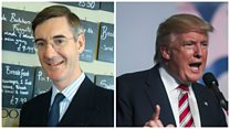 Rees-Mogg: I would 'almost certainly' vote Trump