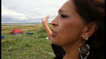 米先住民族が抗議、石油パイプライン建設中止