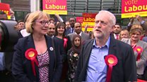 One year as leader for Jeremy Corbyn