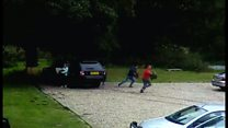 Suspected immigrants filmed in pub car park