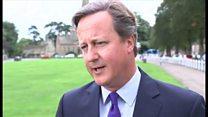 キャメロン氏、英政界引退を発表 政府の妨げにならないようにと