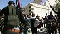 ISから奪還のシリア・ジャラブラスにBBC記者 人の暮らし復活