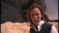 ISが撤退したイラクの町にBBC記者入る