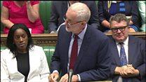 Corbyn and May clash on grammar schools