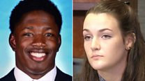Student accuses athlete of rape