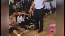 中国草の根民主主義の村、警察が摘発 報道陣入れず