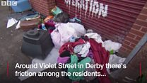 The street at war over fly tipping